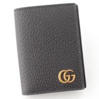 GGマーモント レザー カードケース 428737 ブラック