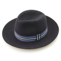 フェルト ハット 帽子 ネイビー 58