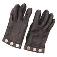 セリエ ロゴ ペッカリー グローブ 手袋 ブラック