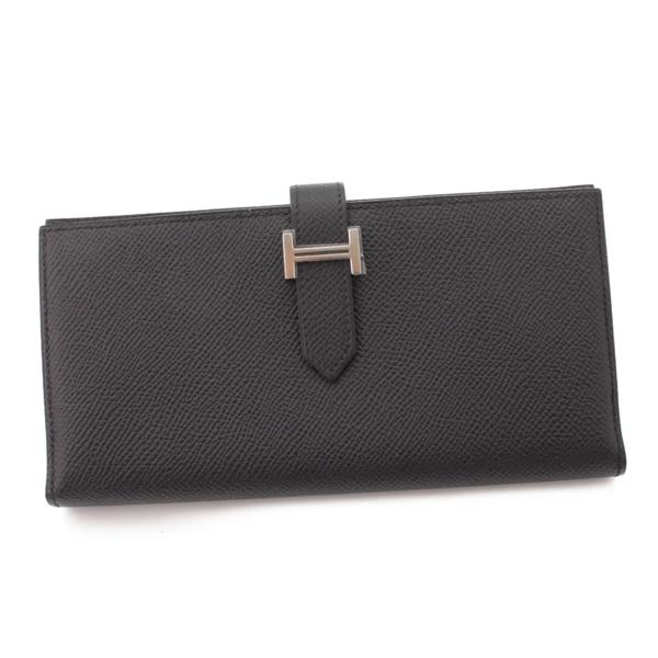 ベアンスフレ ヴォーエプソン 二つ折り 長財布 □R刻 ブラック