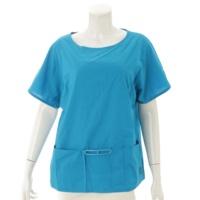 シェーヌダンクル コットン トップス Tシャツ ブルー 34
