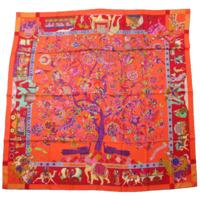 カレ140 シルクスカーフ Fantaisies indiennes 眩惑のインド