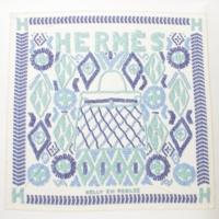 スムーズ カレ90 シルクスカーフ KELLY EN PERLES 真珠でできたケリー