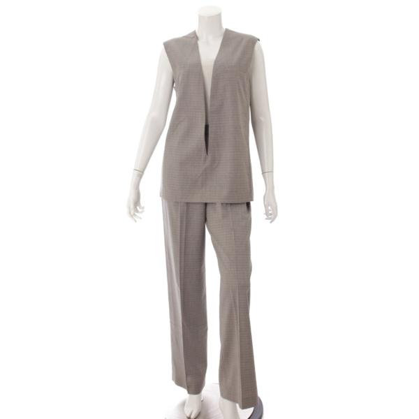 マルジェラ期 ヴァルーズ ウール プルオーバーシャツ パンツ セットアップ グレー 38