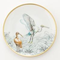 プレート 皿 赤道直下のスケッチ 鳥