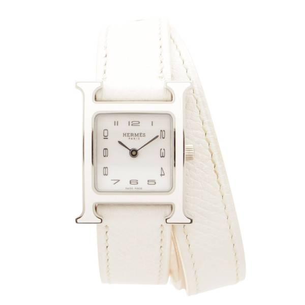 Hウォッチ ドゥブルトゥール 腕時計 HH1.220 ホワイト A刻