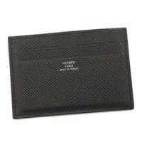 シチズン ツイル ヴォーエプソン カードケース 名刺入れ C刻 ブラック
