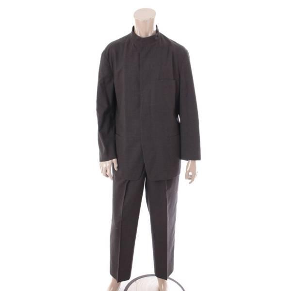 スタンドカラー セットアップ スーツ ME03 グレー