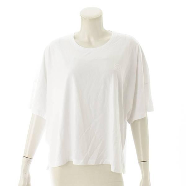 アナグラム 刺繍 オーバーサイズ Tシャツ ホワイト S