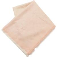 モノグラム シャイン サンライズ ショール ストール M75826 ピンク