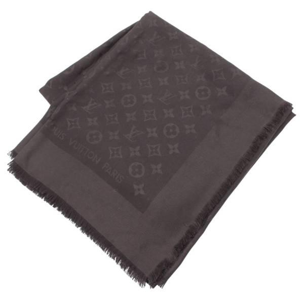 モノグラム シルク ショール スカーフ 402336 ブラック