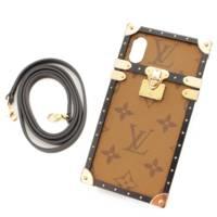 アイトランク モノグラムリバース iPhoneケース iPhoneX XS  M62619 ブラウン