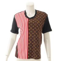 17SS モノグラム ストライプ Tシャツ XS