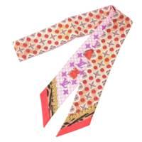 バンドー BB バブルグラム モノグラム スカーフ ピンク マルチカラー