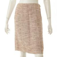 ツイード スカート ピンク 36