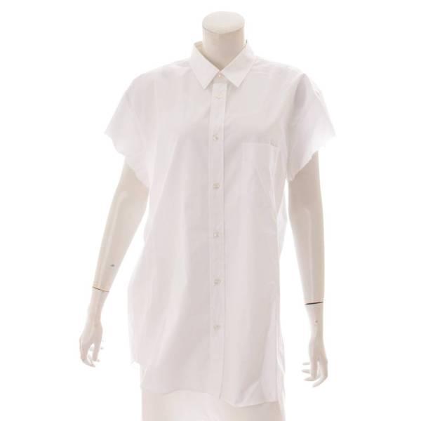 カットオフスリーブ 半袖 シャツ トップス S29DL0172 ホワイト 40