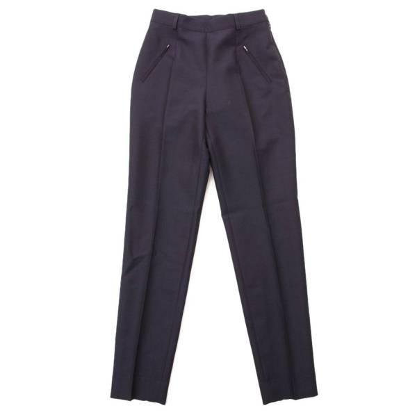 ジップポケット パンツ スラックス S51KA0547 ネイビー 38