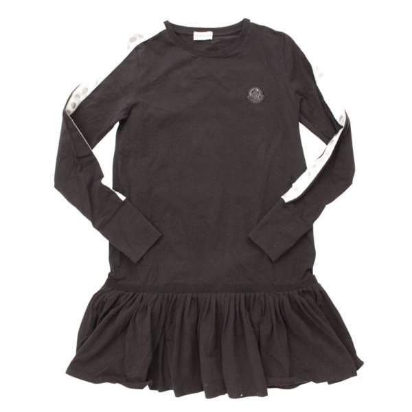 ジュニアサイズ ABITO Tシャツ ワンピース ロゴテープ ネイビー 14