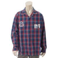 メンズ 2018 CAMICIA カミチア チェックシャツ 52003 ブルー レッド 3