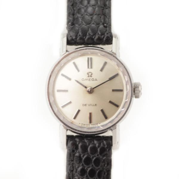 ヴィンテージ アンティーク デビル ウォッチ 手巻き 腕時計 シルバー