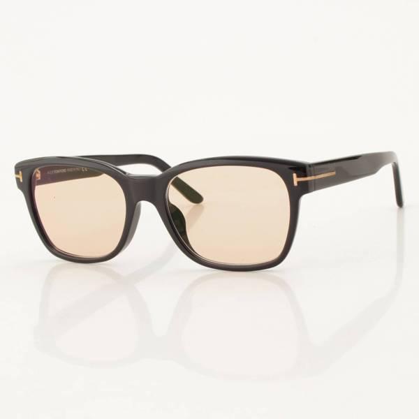 ブルーライトカットレンズ 眼鏡 サングラス TF5535 ブラウン