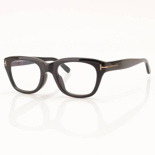 伊達メガネ アジアンフィット ブラック TF5178