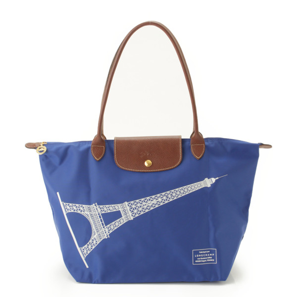 separation shoes 194c7 a470a ロンシャン(Longchamp) パリ限定 プリアージュ ナイロン ...