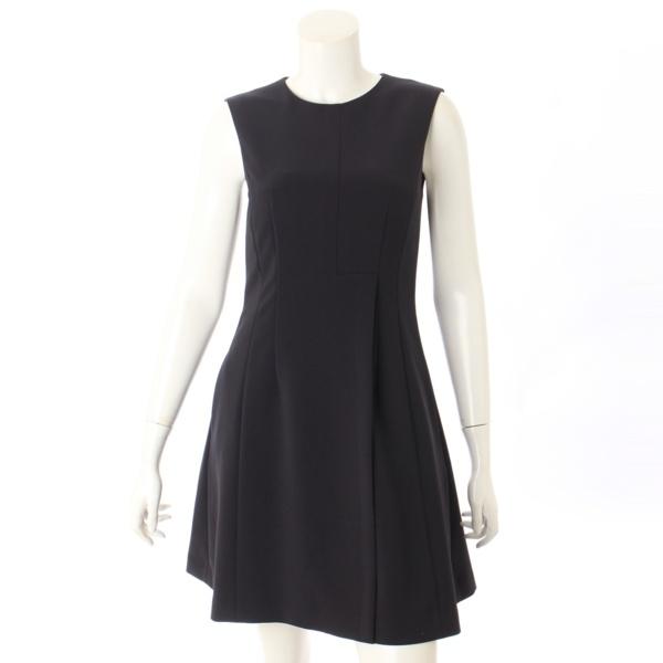 17年 ノースリーブ ワンピース ドレス 38158 ブラック 38