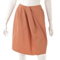 グログランブーケ フレア スカート 32615 オレンジ 38