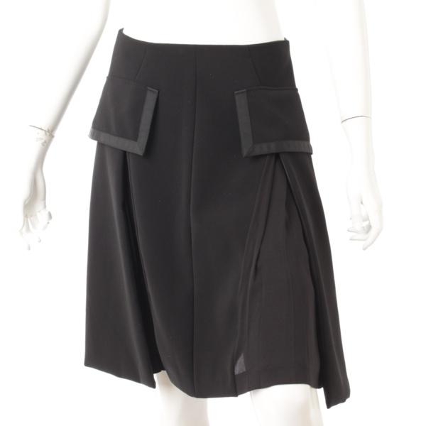 2016年 フレア スカート 35648 ブラック 40