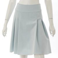 アウトプリーツ スカート 34107 ライトブルー 38