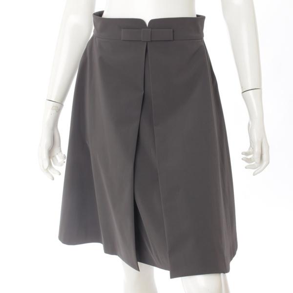 リボン スカート 29010 ダークグレー 40