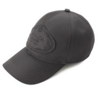 ロゴ ナイロン キャップ 帽子 2HC143 ブラック M