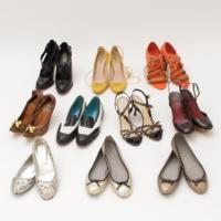 ブランドシューズ11点セット まとめ売り レディース 靴 プラダ ミュウミュウ クロエ