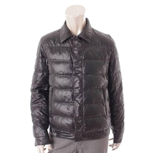 ダウン シャツジャケット ブルゾン SGV46 ブラック 50