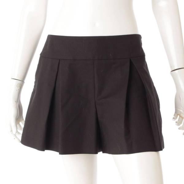 キュロットスカート ブラック 42