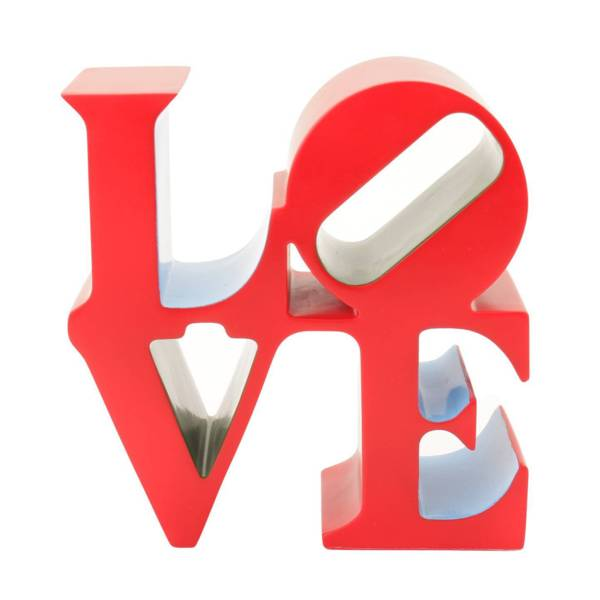 ロバート・インディアナ【LOVE】500個限定ミニオブジェ 世界的に有名な一流作品!