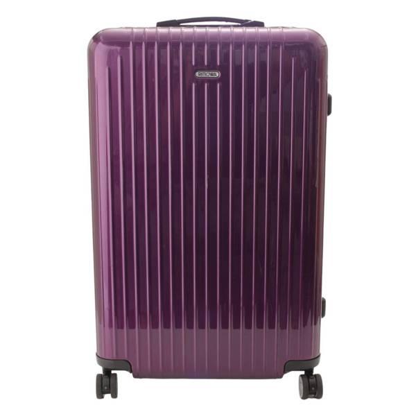 サルサエアー スーツケース キャリーバッグ TSAロック パープル 84L