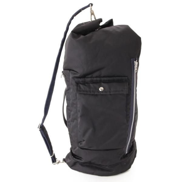 ポーターコラボ MA-1 Duffle Bag 2WAY ショルダーバッグ ブラック