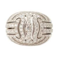 K18WG ダイヤモンド リング 指輪  13.3g 10号