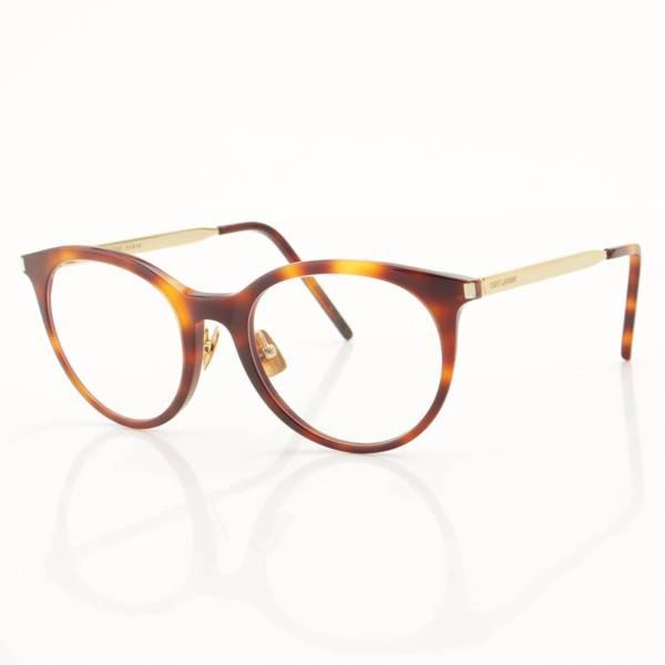 アイウェア べっ甲 眼鏡 メガネ SL268 ブラウン 50□20