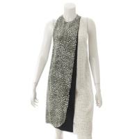 シルク ホルターネック バケーションドレス ワンピース 40