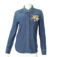 タイガー デニムシャツ ブルー 36