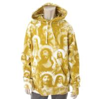 18AW Jesus And Mary Hooded パーカー イエロー L