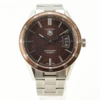 メンズ カレラ オートマチック 腕時計 WV211N ブラウン