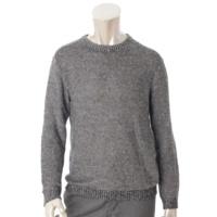トリコ ニット セーター ブラック×ホワイト XS