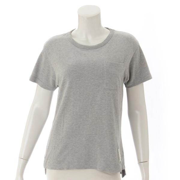 半袖 ポケット Tシャツ グレー 0