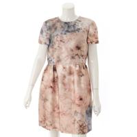 花柄 ワンピース ドレス ピンク ブルー 8