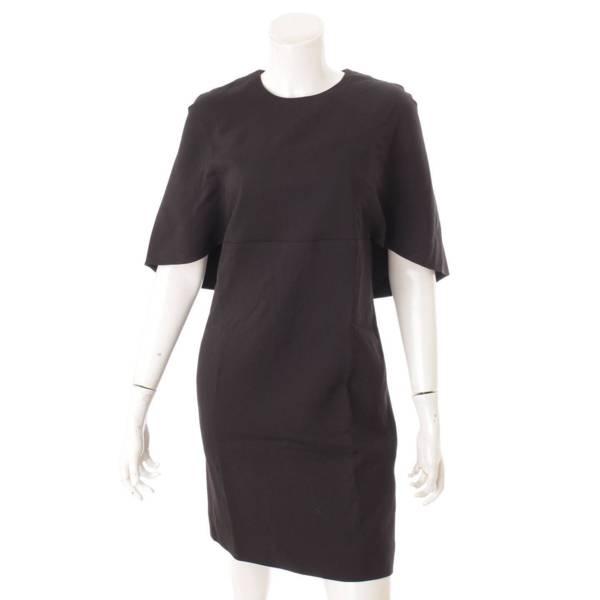 バックリボン ドレス ワンピース ブラック 40