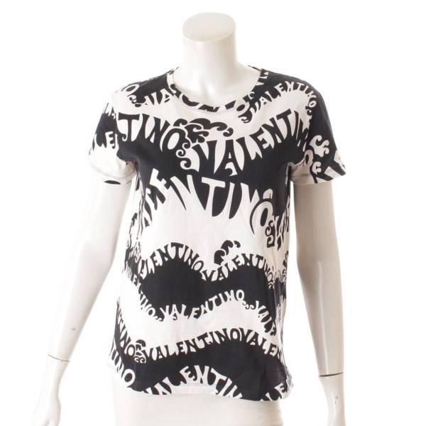 半袖 Tシャツ トップス ブラック ホワイト S